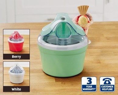 Aldi Ice Cream Maker ?14.99, 3 years Warranty, from Thursday 2nd of July - HotUKDeals