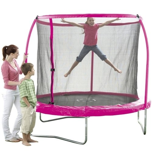 8ft Pink Trampoline £89.99 In-store @ Toysrus This Weekend