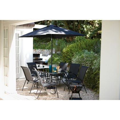 Andorra 6 Seater Garden Furniture Set Homebase Hotukdeals