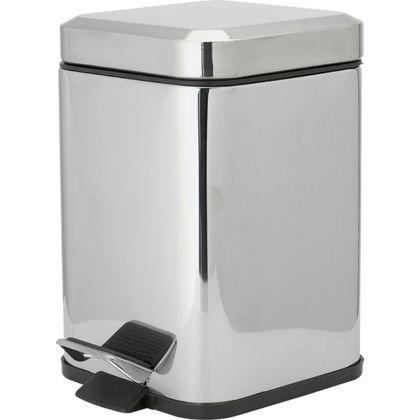 square pedal bin homebase hotukdeals. Black Bedroom Furniture Sets. Home Design Ideas