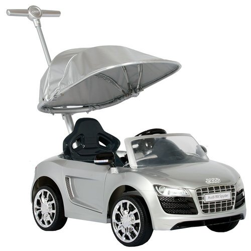 Audi Push Buggy With Canopy Silver Now Less Than Half