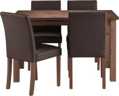 Nice small dining table for a single person small flat for Small 4 person dining table