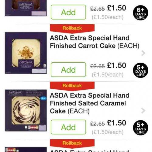 Asda Extra Special Coffee And Walnut Cake