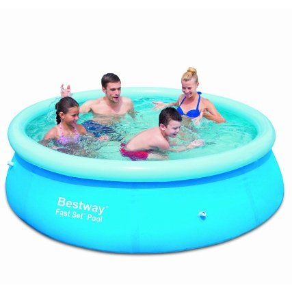 The cheapest bestway fast set paddling pool 8 x 26 now 4 for Paddling pools deals