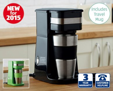 One Cup Coffee Maker Aldi : One Cup Coffee Maker Aldi ?14.99 - HotUKDeals