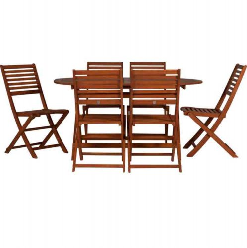 6 Seater Large Garden Patio Table And Chairs Set Instore Argos Ho