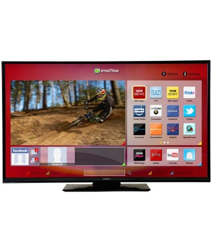 hitachi 48hbt62u 48 inch full hd freeview hd smart tv 319. Black Bedroom Furniture Sets. Home Design Ideas
