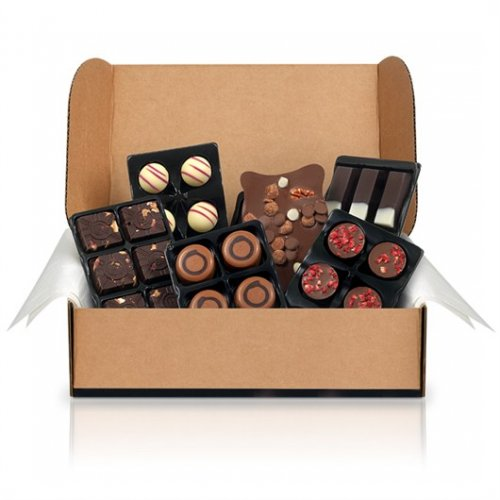 End of Season SALE Starts Today! Given our commitment to freshness we have shorter shelf lives on our chocolates than most. When our products get close to their best before date we like to offer them on special deals - Hotel Chocolat.
