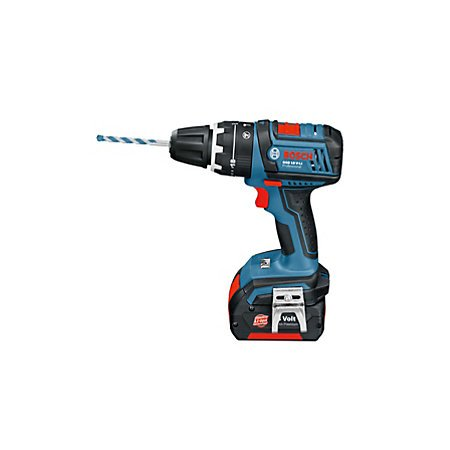 bosch professinal 18v cordless drill with 2 x1 5ah lithium. Black Bedroom Furniture Sets. Home Design Ideas