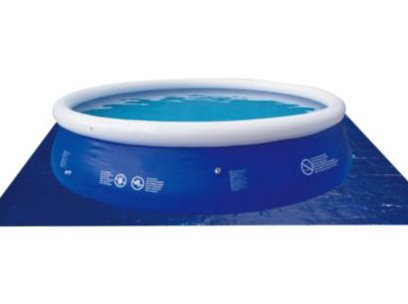 15ft swimming pool ground sheet 5m2 only for Garden pool tesco