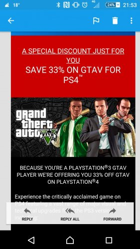 Get Off The Playstation 3 : Playstation email for gta owners of ps copy get