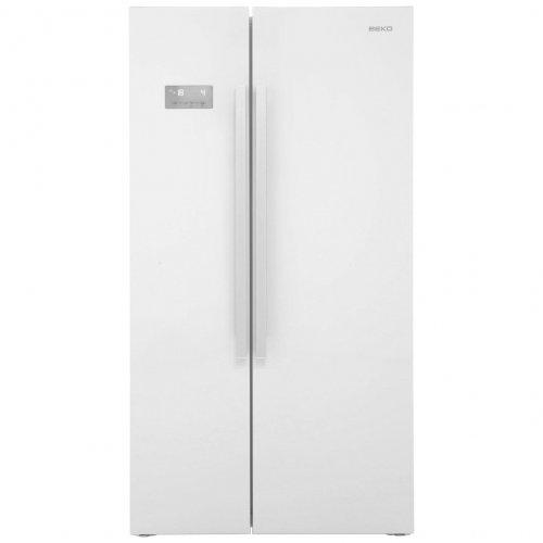 beko asl141w american fridge freezer gloss white 439. Black Bedroom Furniture Sets. Home Design Ideas