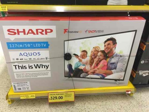 Tesco 50 inch tv deals