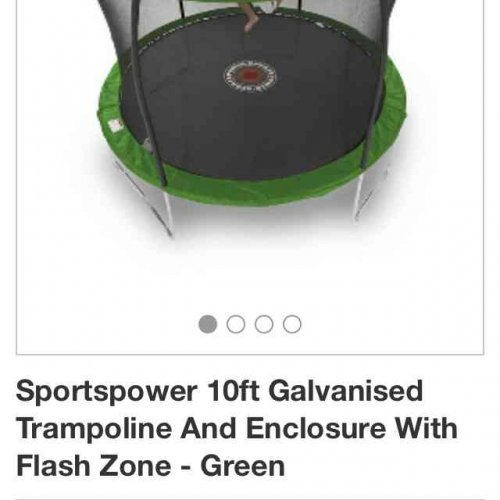 10ft Trampoline Was £99 Now £69 In Sale In Asda Dunstable