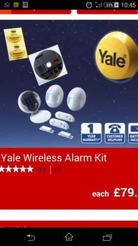 yale wireless alarm kit aldi from 24th hotukdeals. Black Bedroom Furniture Sets. Home Design Ideas