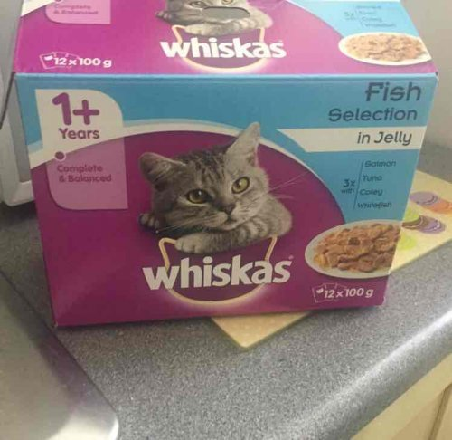 Whiskers Cat Food Sainsburys