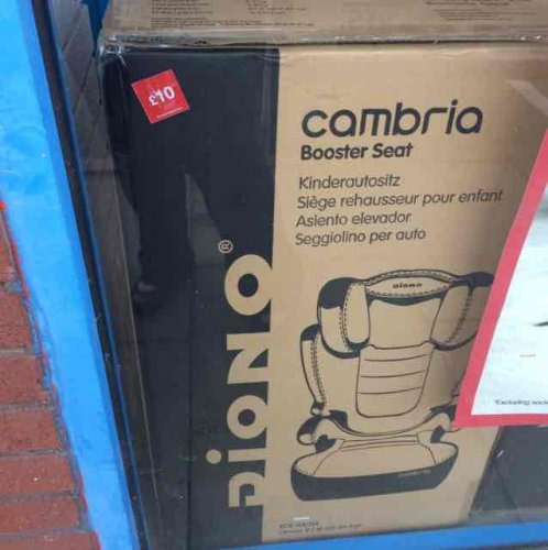 Diono Cambria High Back Booster Seat Halfords 163 10 In Store