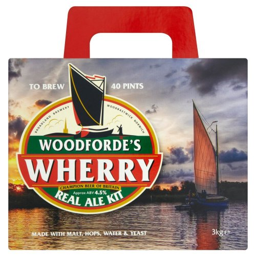 woodfordes wherry homebrew beer bitter kit 15 wilko free. Black Bedroom Furniture Sets. Home Design Ideas