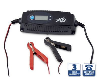 aldi auto xs battery charger instructions