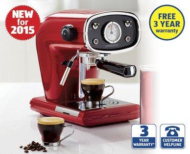 aldi expressi coffee machine instructions