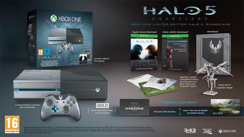 limited edition halo 5 guardians xbox one 1tb console only at game xbox one when you. Black Bedroom Furniture Sets. Home Design Ideas