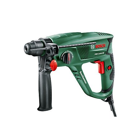 bosch 550 w corded sds rotary hammer drill pbh 2100 re 57. Black Bedroom Furniture Sets. Home Design Ideas