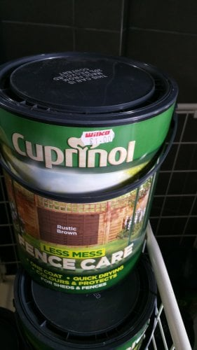 cuprinol fence paint only 1 in store bolton wilko. Black Bedroom Furniture Sets. Home Design Ideas