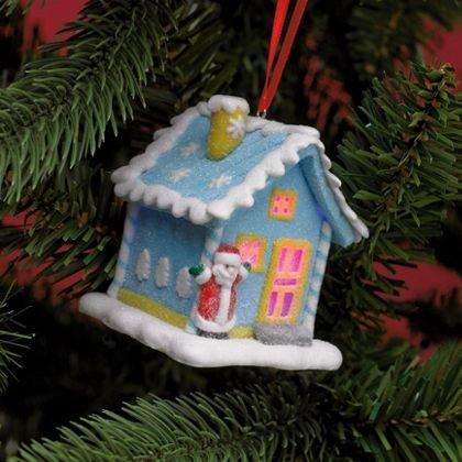 Multicoloured Led Light Christmas House Tree Decoration 2