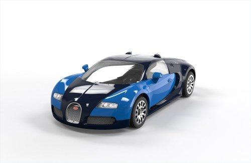 airfix quick build bugatti veyron car model kit amazon prime 9 5. Black Bedroom Furniture Sets. Home Design Ideas