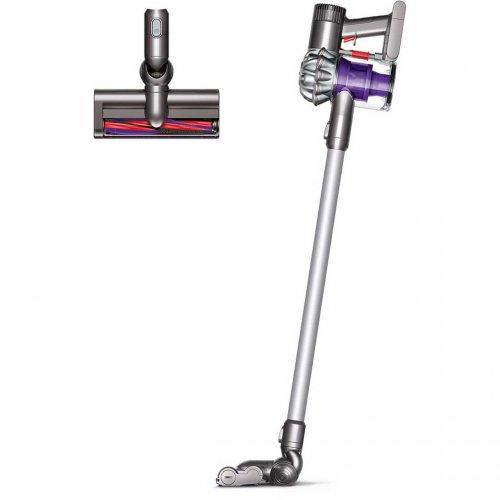 dyson v6 cordless vacuum cleaner silver 214. Black Bedroom Furniture Sets. Home Design Ideas