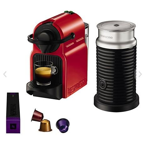 Krups Coffee Maker John Lewis : Nespresso Inissia Coffee Machine with Aeroccino by KRUPS in Red ?79.95 @ John Lewis - HotUKDeals
