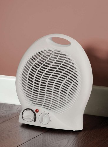 upright fan heater 2000w white very cheap rrp only. Black Bedroom Furniture Sets. Home Design Ideas