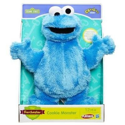 Squishy Mushy Argos : Sesame Street  Cookie Monster  Let s Cuddle Soft Toy - ?6.49 (Half Price) - Argos (As seen on ...
