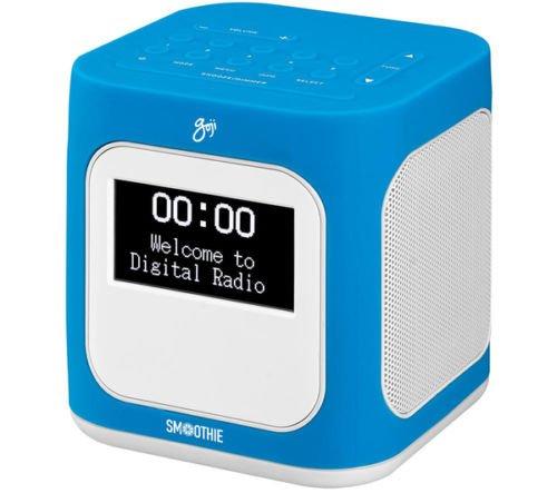 goji smoothie dab alarm clock radio new from currys ebay. Black Bedroom Furniture Sets. Home Design Ideas