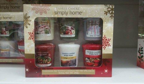 yankee candles votive gift set asda instore. Black Bedroom Furniture Sets. Home Design Ideas