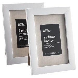 2 white or black 6x4 photo frames for 1 asda free c c. Black Bedroom Furniture Sets. Home Design Ideas