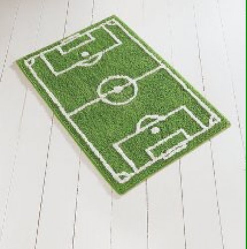Asda George Home Football Pitch Rug £4.50