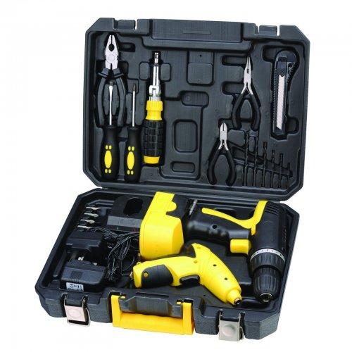 Portable Drill Bit Storage : Maplin v cordless screwdriver drill diy power tool