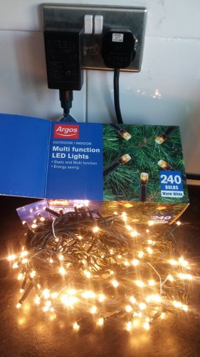 argos outdoor christmas trees