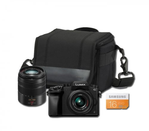 Panasonic lumix g7 twin lens kit 14 42mm 45 150mm - Lumix classic ...
