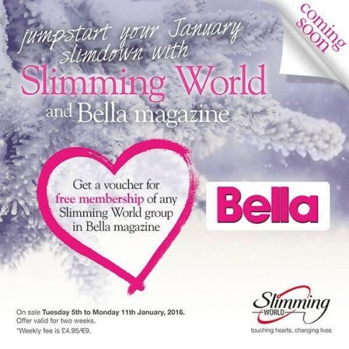 Free Slimming World Membership With Bella Magazine 92p