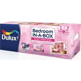 dulux bedroom in a box wall mural fairy princess reduced to 34