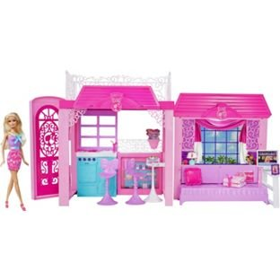 barbie glam vacation house at argos only hotukdeals. Black Bedroom Furniture Sets. Home Design Ideas