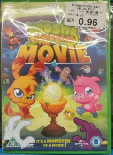 Toys R Us Dvd : Moshi monsters the movie dvd p toys r us hotukdeals