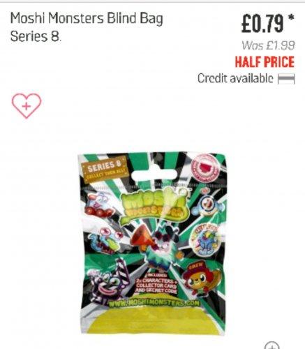 Smooshy Mushy Blind Bags Argos : Moshi monsters blind bag 79p at Argos - HotUKDeals