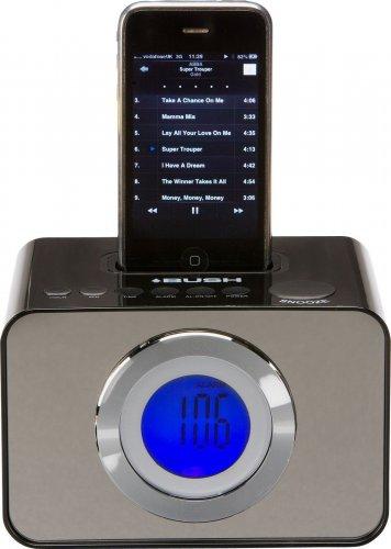 bush lcd alarm clock fm radio with ipod dock delivered argos ebay hotukdeals. Black Bedroom Furniture Sets. Home Design Ideas