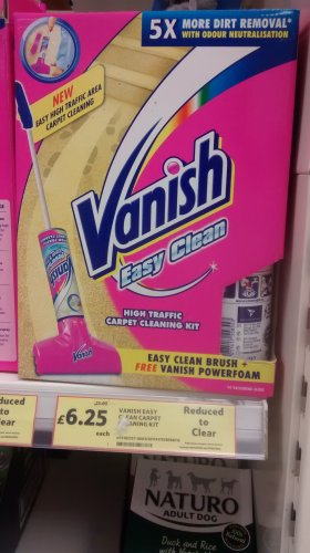Vanish Easy Clean Carpet Cleaning Kit 163 6 25 Down From 163 25