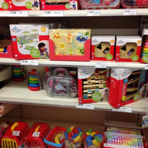 carousel toys at tesco lots of them are scanning much. Black Bedroom Furniture Sets. Home Design Ideas