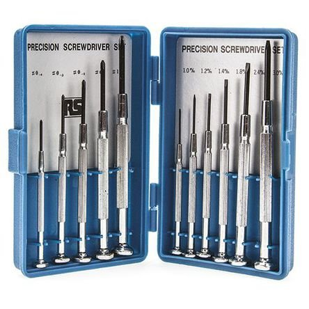 11 piece precision screwdriver set was 1 213 now rs hotukdeals. Black Bedroom Furniture Sets. Home Design Ideas