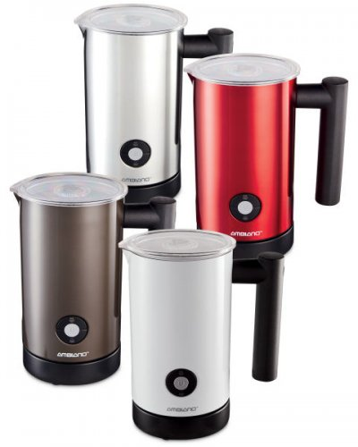 easycino milk frother how to get it hot